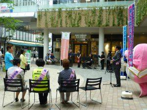丸亀町グリーン・けやき広場で男女参画週間 キャンペーン